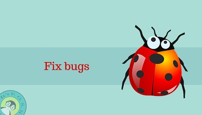 Fix bugs in order to help open source projects