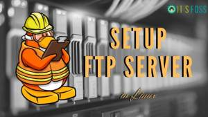 Setup FTP Server Linux