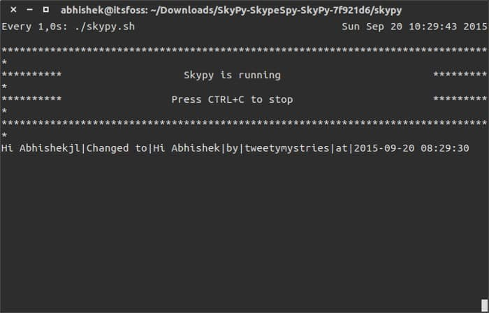 See Skype edited chat history in Linux