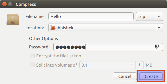 Creating encrypted folders in Linux