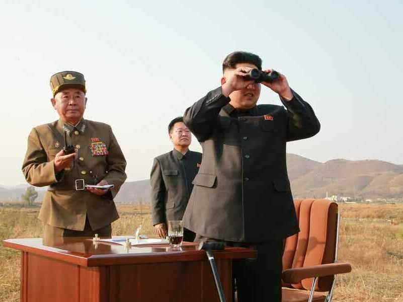 Kim Jong Un trying to track who has the latest edition of Naughty America