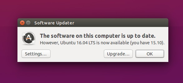 Upgrade to Ubuntu 16.04