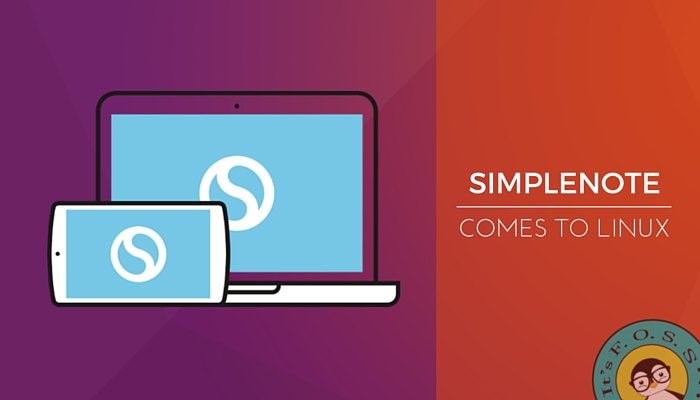 Simplenote is now available in Linux desktop