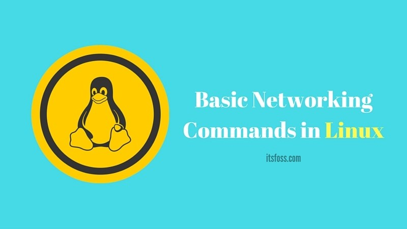 basic networking commands in Linux
