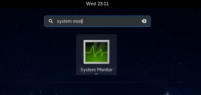 system monitor gnome