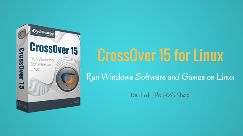 CrossOver for Linux deal