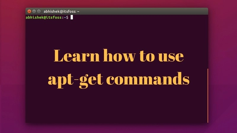 Complete beginner's guide to use apt-get commands in Linux
