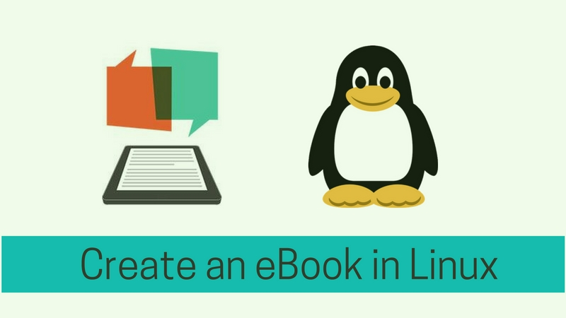 Guide to create an eBoook in Linux with Calibre