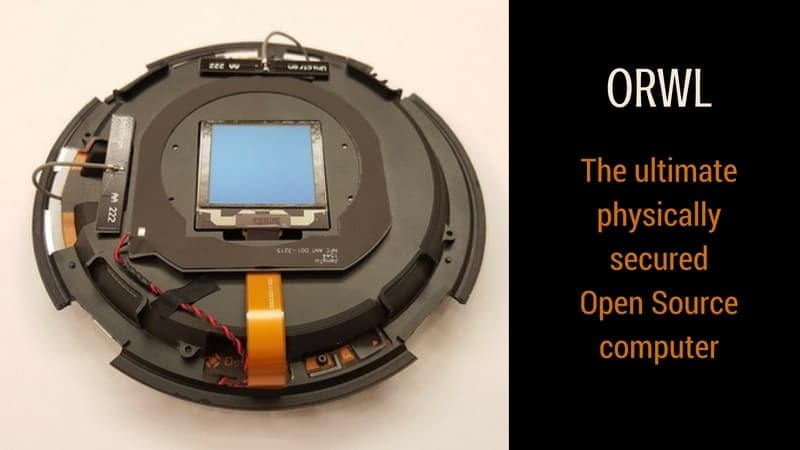 ORWL Open source physically secure computer