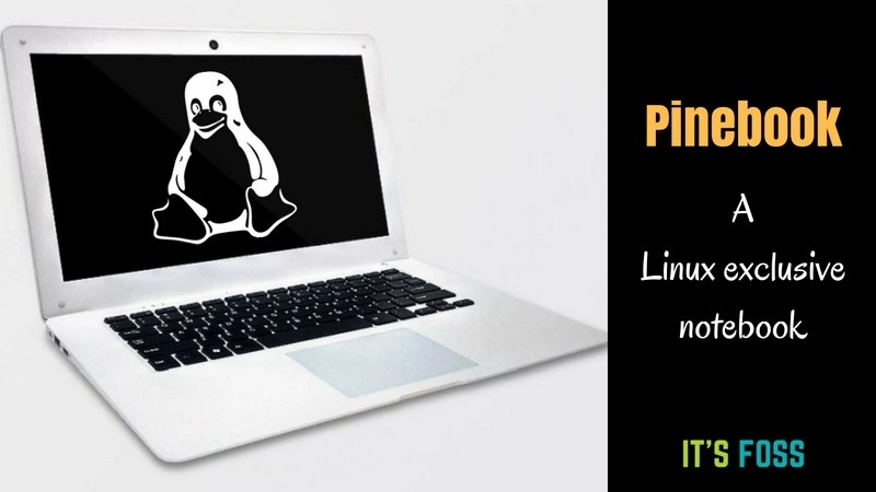 Pinebook Linux Notebook
