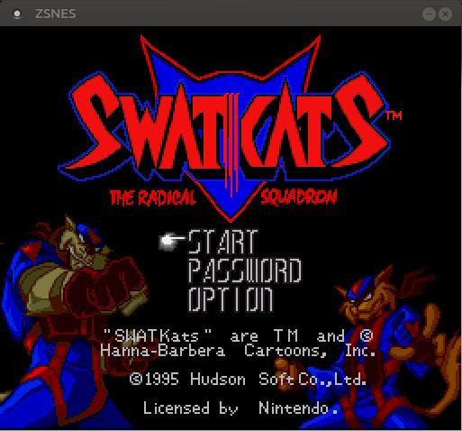SWATKats game in Linux