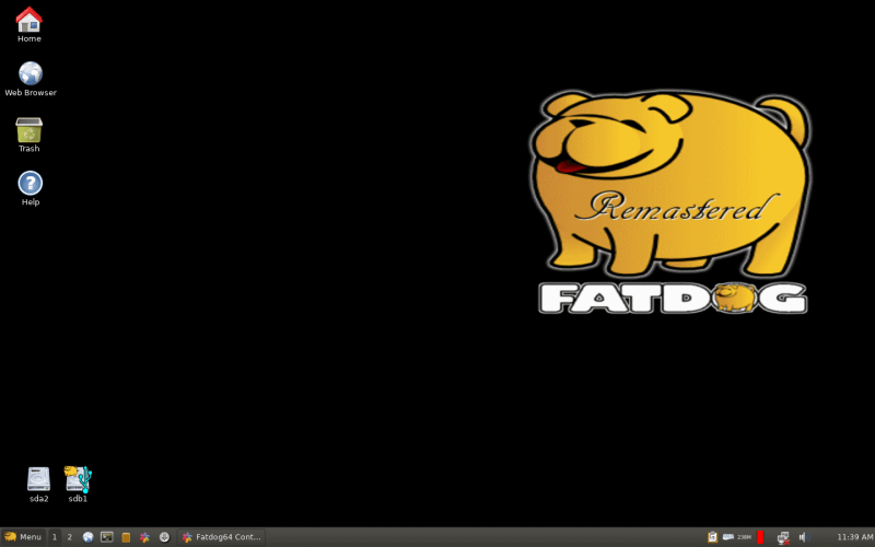 Review] FatDog64 – A Lightweight Linux Distribution For