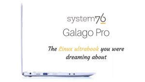 System76 Galago Pro Linux ultrabook
