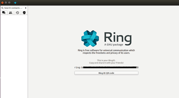 Ring Launch Screen