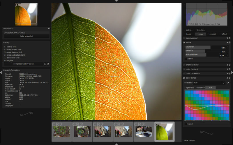4 Best Free and Open Source Tools for RAW Image Processing