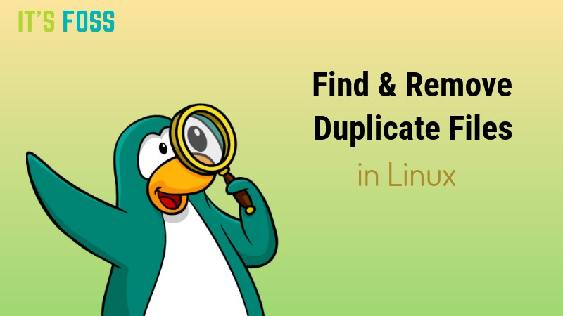 Find and Remove Duplicate files in Linux