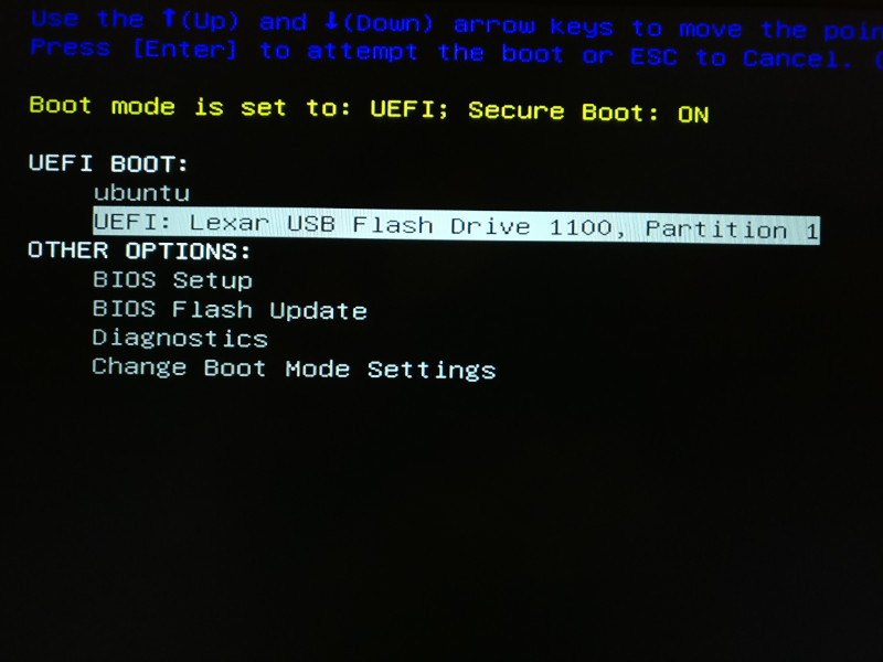 how to boot from windows 10 usb