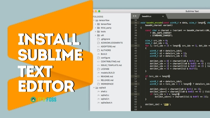 Install Sublime Text Editor Linux