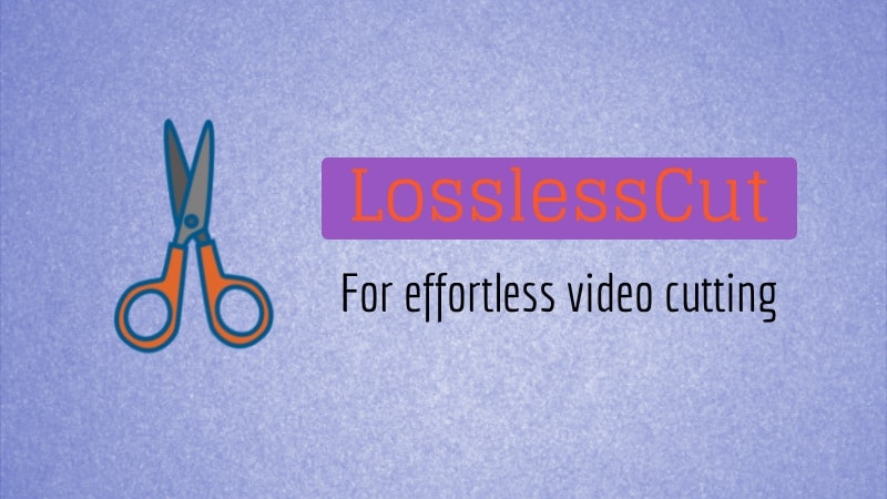 LosslessCut is a Ridiculously Simple Video Cutter for Linux - It's FOSS