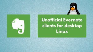 Using Evernote on Linux