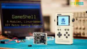 GameShell is a Linux based DIY Retro Gaming Console