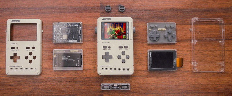 GameShell is a modular and hackable gaming console based on Linux