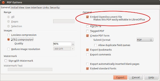 Enable Hybrid PDF to easily edit PDFs later