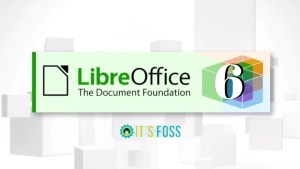 LibreOffice 6.0 Released