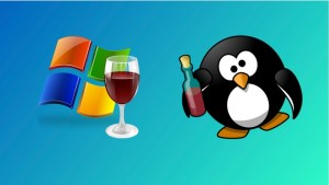Wine lets you run Windows software in Linux