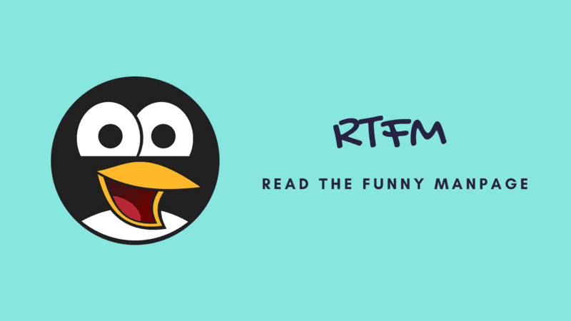 Funny Man Pages in Linux