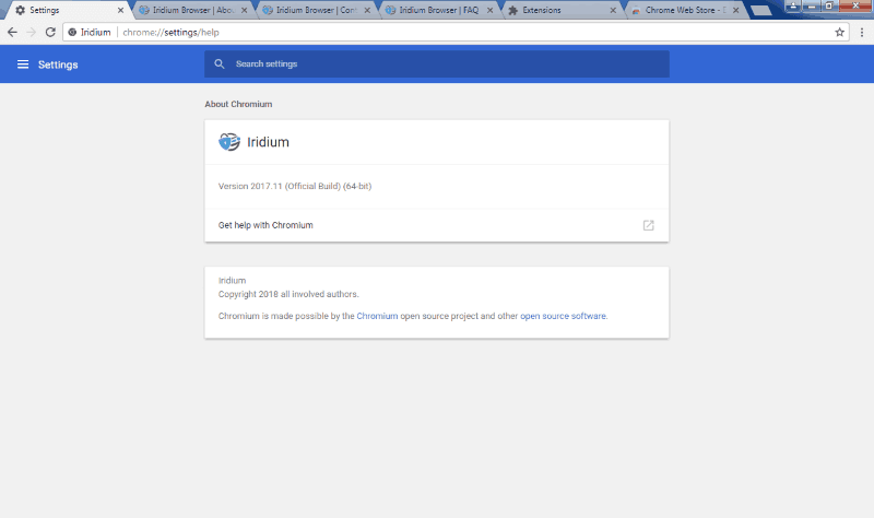 Iridium Browser: A Browser for the Privacy Conscious - It's FOSS
