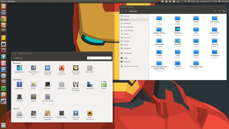 Obsidian is one of the best icon themes