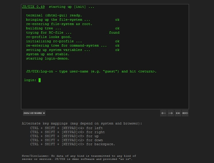 free online linux terminal for practice