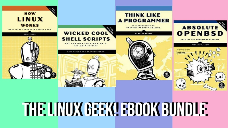 Linux Book Deal from Humble Bundle