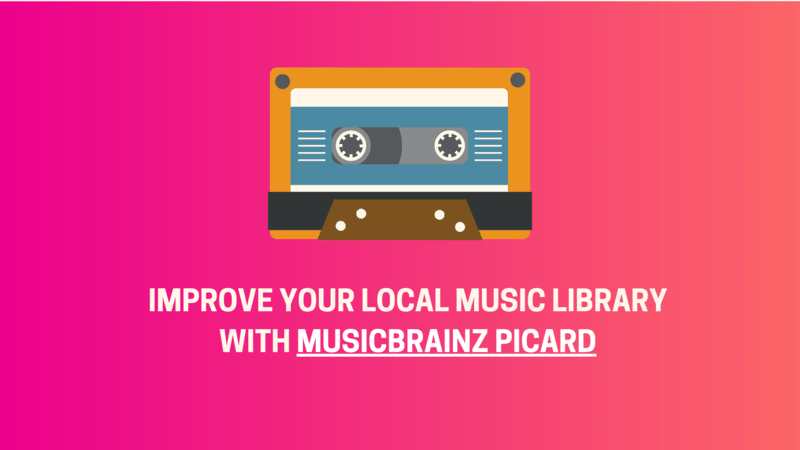 Music Tagger MusicBrainz Picard Has a New Major Release After Six