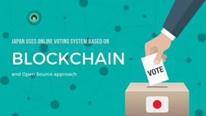 Japa uses blockchain based voting system
