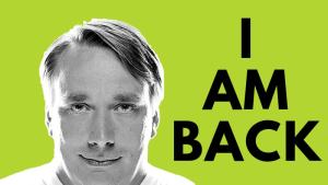 Linus Torvalds is back in charge of Linux