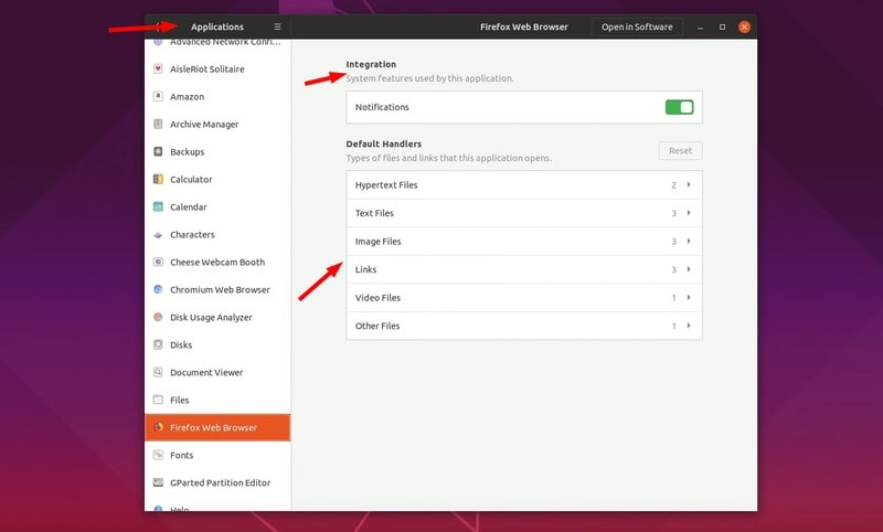ubuntu 19.04 application permission control