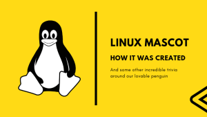 History of Linux logo