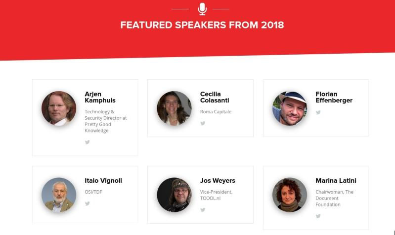 oscal featured speakers