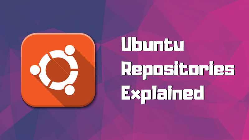 The concept of repositories in Ubuntu