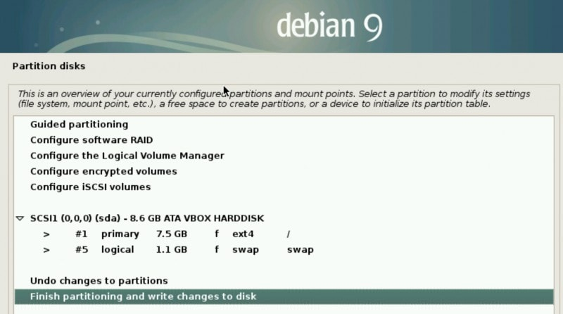 Partition Disk 4