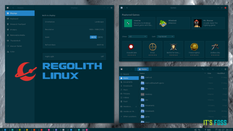 Get a Preconfigured Tiling Window Manager on Ubuntu With Regolith