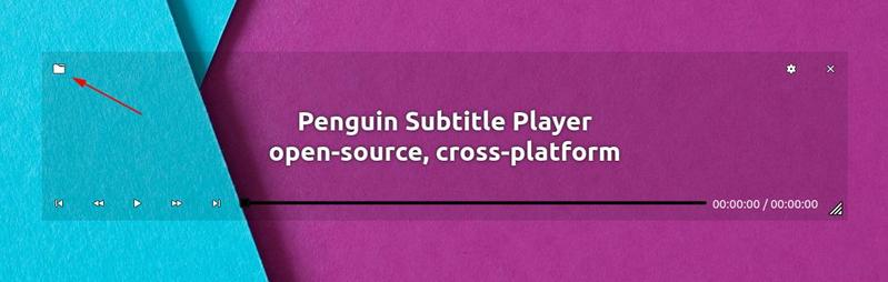 Add Subtitle In Penguin Subtitle Player
