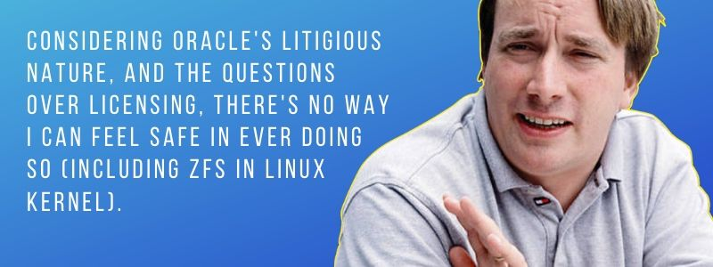 Linus Torvalds Zfs Quotes