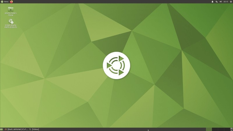 Ubuntu Mate Shot