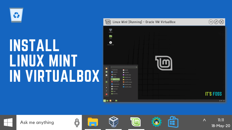 Install Linux Mint In Virtualbox