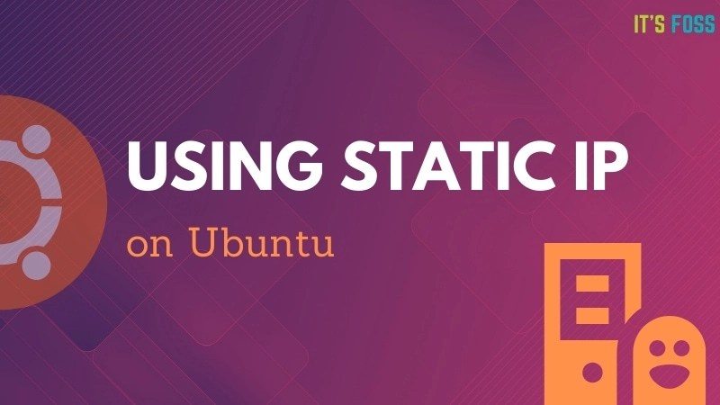 Static IP set up Ubuntu