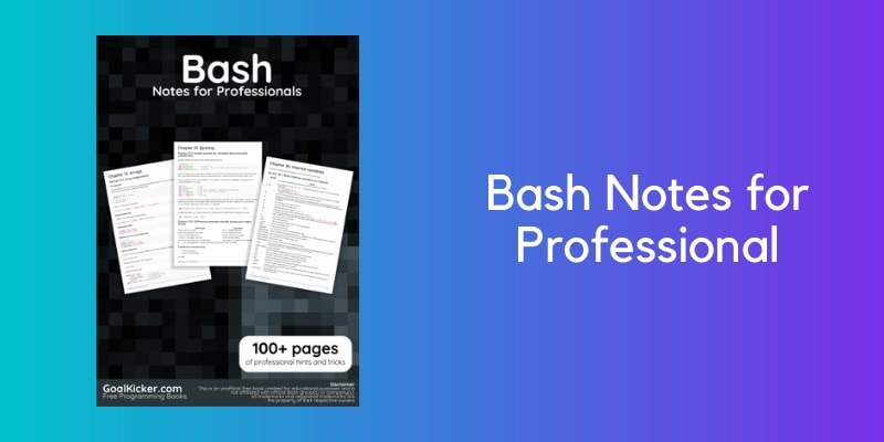 Bash Notes For Professional