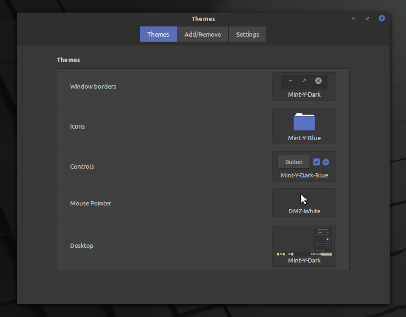 Linux Mint 20 Theme